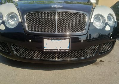 BENTLEY BUMPER REPAIR 3